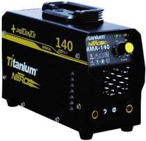 Maquina Inversora De Solda Eletrodo Mma Bivolt Titanium Nitro 140A -