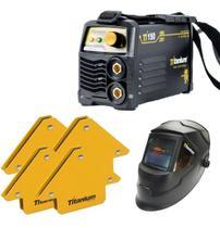 Maquina Inversora Solda Ti150 Titanium + Mascara +4esquadro - Cds