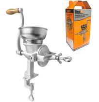 Maquina / moinho de metal para moer cafe/cereais/graos manual 35x13,5x37cm - Rio Chens
