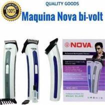 Máquina Nova Corta Cabelo Fazer Barba Pezinho Recarregável -