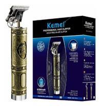 Máquina para Cortar Cabelo, Barba e Acabamento Kemei KM 1974A -