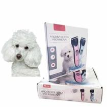 Maquina Para Tosa Pet Recarregável Cães Gatos Pet Sem Fio - Aiker