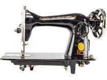 Máquina pretinha doméstica 15/C - Js agulhas e máquinas