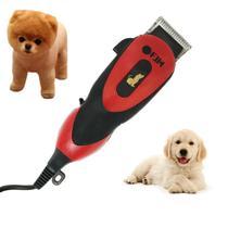 Máquina Profissional 110v Tosa Pet Cães E Gatos - Premium - Fjm