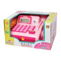 Maquina Registradora Caixa Eletrônica Infantil Brinquedo -