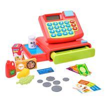 Máquina Registradora Hora das Compras Brinquedo Infantil - Dm Toys