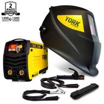 Máquina Solda Inversora 180a 220v Kab180 Cim-6180 Tork + Máscara -