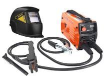 Maquina Solda Inversora Mini 226 Mma Tig Mascara Escurecimento Automatico Lynus - Usk