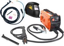 Maquina Solda Inversora Mini 226 Mma Tocha Tig Mascara Escurecimento Automático Lynus - Usk