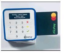 Maquina SumUp Top + Capinha para proteção + Cabo USB para Recarregar Sumup Top -