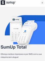 Máquina Sumup Total. Imprime recibo, pronta entrega -
