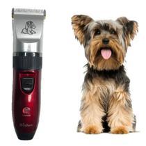 Máquina Tosa Cães E Gatos Bivolt Com Acessórios Boa e Barata - Alex Imports Mt
