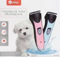 Máquina Tosa Tosadeira Cães E Gatos Recarregável Aiker -