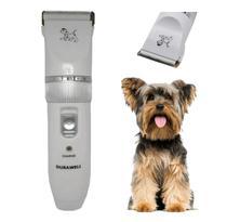 Máquina Tosar Cortar Pelo Animais Cachorro Caes Raça sem Fio - Dacar