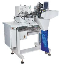 Máquina Travete Automática de Aplicar Passantes 2 Agulhas ELLO EL-T254-ZD -