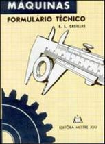 Maquinas formulario tecnico - Mestre jou -