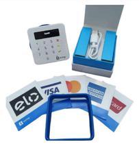 Maquineta De Cartão - Máquina SumUp TOP Com NFC - _Maquininha 1% Recarregável -