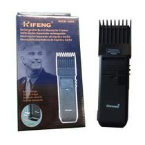 Maquininha Aparador Barba Cabelo Rifeng Recarregável Bi-volt -