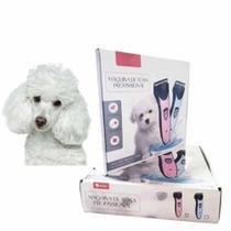 Maquininha De Tosa Profissional Sem Fio Pet Cachorro Maquina de Tosar Bivolt Lançamento 2021 - Aiker