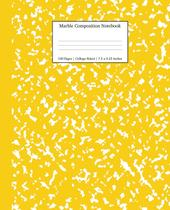 Marble Composition Notebook College Ruled - Enemyone