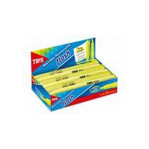 Marca Texto Fluor Flash Amarelo Caixa Display 12 Unidades Tris  - 625638 -