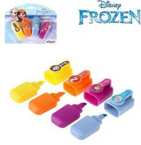 Marca texto mini infantil colors kit com 4 pecas frozen na cartela - Etipel