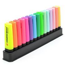 Marca Texto Stabilo Boss Com 15 Cores Neon E Pastel Original -
