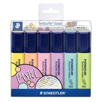 Marca Texto Staedtler Textsurfer Classic com 6 Cores Pastéis -