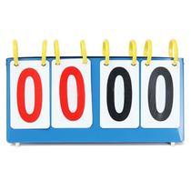 Marcador contador de pontos de mesa em metal placar para jogos esporte futsal futebol tenis de mesa - Makeda