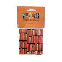 Marcador de página - maria eugênia - livros - Teca