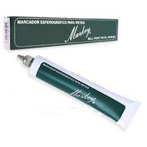 Marcador esferográfico para metal 3mm - Verde - Markey -