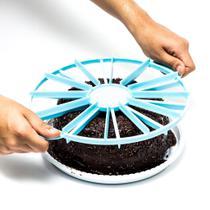 Marcador/fatiador de bolo plastico - Dasshaus
