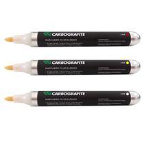 Marcador Industrial CARBOGRAFITE CG Ecológico Amarelo (ponta 2mm) -