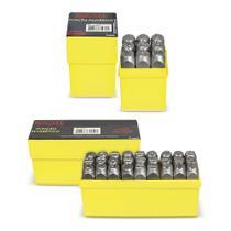 Marcador Punção Alfanumérico 36 Pçs 3,0mm Letras E Números - Centercoisas
