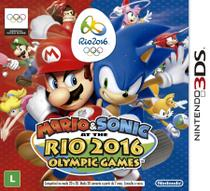 Mario and Sonic at Rio 2016 Olympic 3DS - Nintendo