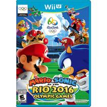 Mario  sonic at the rio 2016 olympic games - wii u - Nintendo