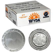 Marmitex N7 Alumínio 480 ml Fechamento Máquina 100 unidades  Wyda -