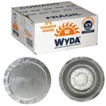 Marmitex N8 Alumínio 850 ml Fechamento Máquina 100 unidades  Wyda -
