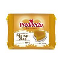 Marrom Glace Bloco 350g Predilecta -