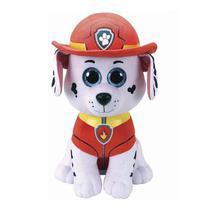 Marshall Pelúcia Beanie 45 cm Patrulha Canina  TY 4927 - DTC -