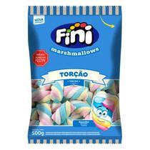 Marshmallows fini 500gr sabor baunilha -