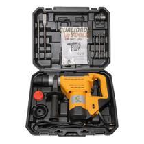 Martelete 1250w 110v Rompedor E Furadeira 7kg Profissional - Siga Tools