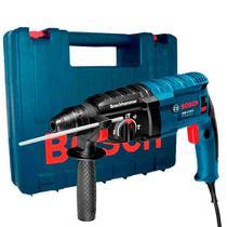 Martelete Perfurador e Rompedor 650W SDS velocidade variável e reversível com maleta - GBH2-20D (110V) - Bosch