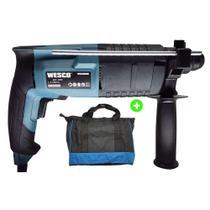 Martelete Sds Plus Com Bolsa Wesco 20mm 620w Ws3160ku -