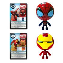 Marvel 2 pack Croms - Spider man e Iron Man Yellow 4150 -
