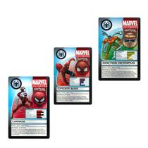 Marvel 3 pack Croms - Spider man e inimigos - Yellow 4150 -