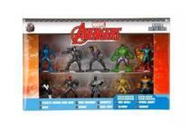 Marvel Action kit - 10 Bonecos Nano Metalfigs - Avengers. 4281 Jada Dtc. -