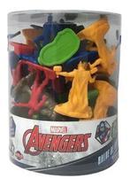 Marvel Avengers Balde De Heróis Miniaturas  28423 - Toyng -