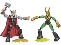 Marvel Avengers Bend E Flex Thor Vs. Loki - Mattel F0245 - Brinquedos