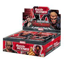 MARVEL Battle Scenes Booster Box (36 unidades) Iniciativa Vingadores -